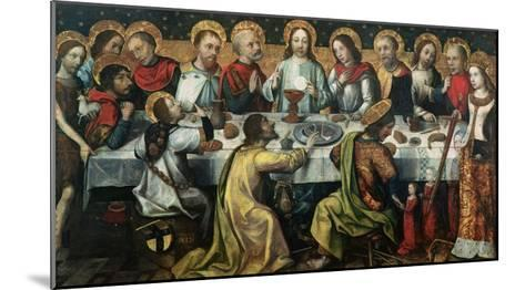 The Last Supper, 1482- Godefroy-Mounted Giclee Print