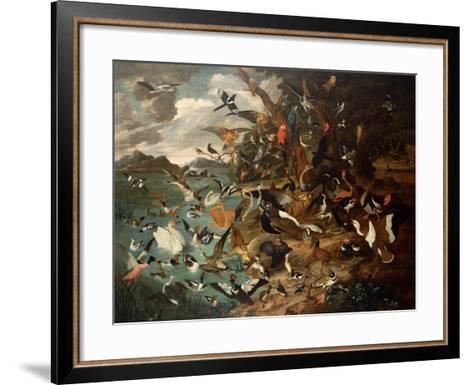 The Parliament of Birds-Carl Wilhelm De Hamilton-Framed Art Print