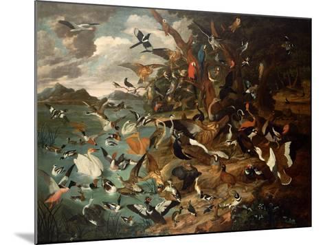 The Parliament of Birds-Carl Wilhelm De Hamilton-Mounted Giclee Print