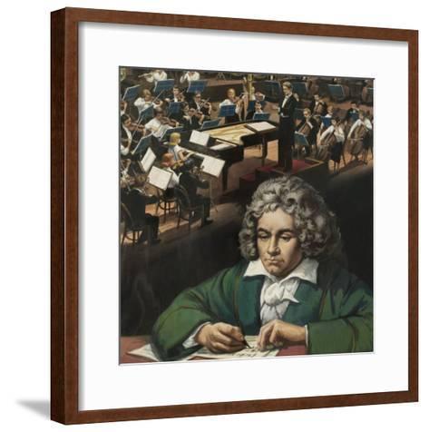 Beethoven--Framed Art Print