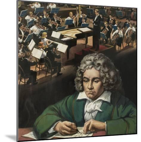 Beethoven--Mounted Giclee Print