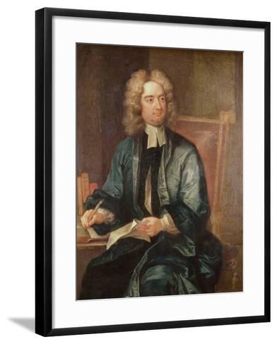 Portrait of Jonathan Swift-Charles Jervas-Framed Art Print