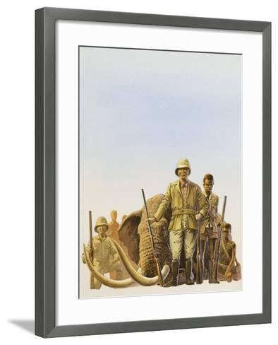 Big Game Hunting--Framed Art Print