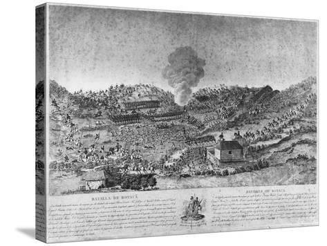 Battle of Boyaca--Stretched Canvas Print