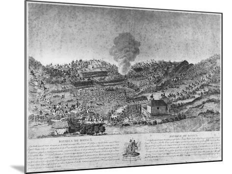 Battle of Boyaca--Mounted Giclee Print