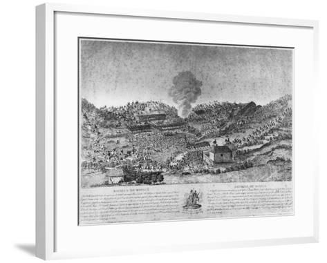 Battle of Boyaca--Framed Art Print