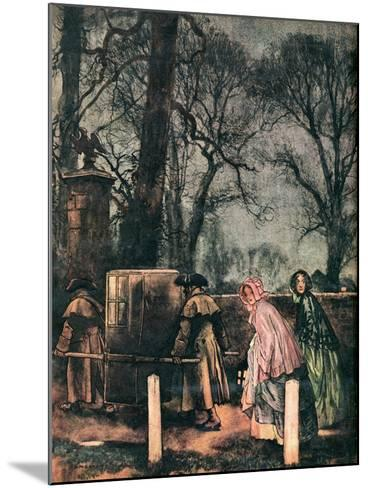 Cranford by Mrs Gaskell-H. M. Brook-Mounted Giclee Print