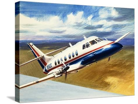The Handley Page Jetstream-Wilf Hardy-Stretched Canvas Print