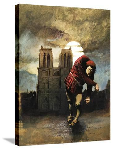 The Hunchback of Notre Dame-Arthur Ranson-Stretched Canvas Print