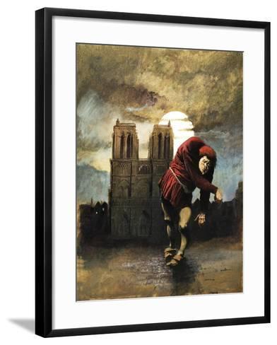 The Hunchback of Notre Dame-Arthur Ranson-Framed Art Print