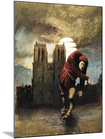 The Hunchback of Notre Dame-Arthur Ranson-Mounted Giclee Print