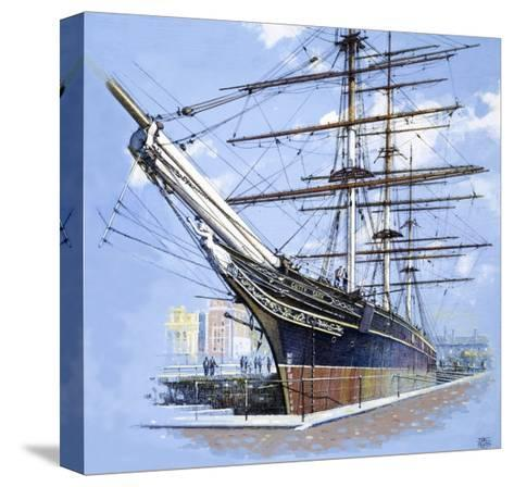 The Tea Clipper Cutty Sark-John S^ Smith-Stretched Canvas Print