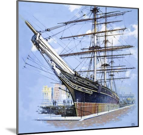The Tea Clipper Cutty Sark-John S^ Smith-Mounted Giclee Print