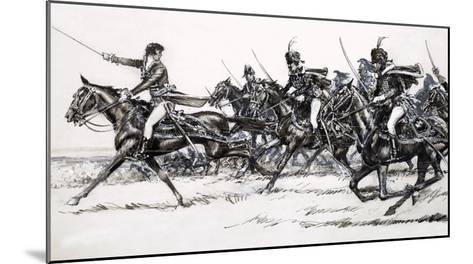 Cavalry Charge-John Millar Watt-Mounted Giclee Print