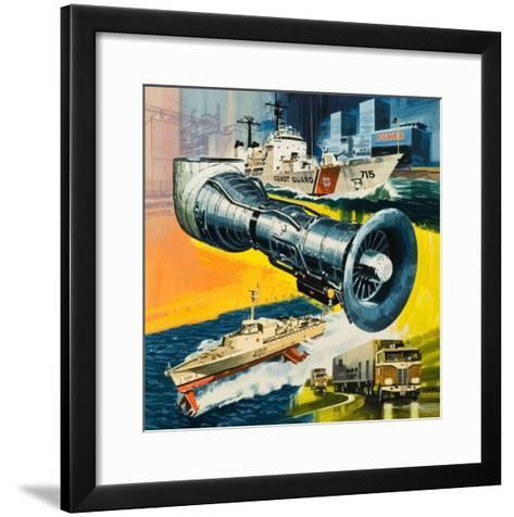 Jet Engines That Do Not Fly-Wilf Hardy-Framed Art Print