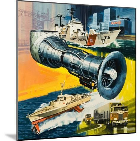 Jet Engines That Do Not Fly-Wilf Hardy-Mounted Giclee Print