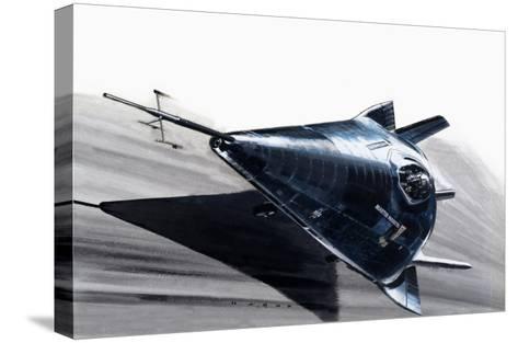 Martin-Marietta X-24-Wilf Hardy-Stretched Canvas Print