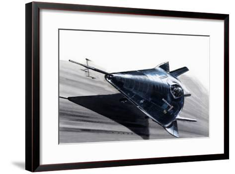 Martin-Marietta X-24-Wilf Hardy-Framed Art Print