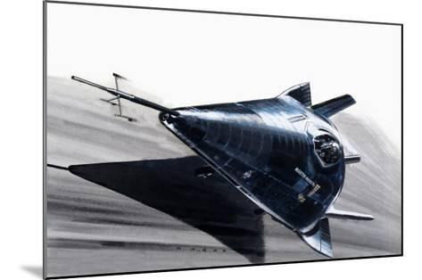 Martin-Marietta X-24-Wilf Hardy-Mounted Giclee Print