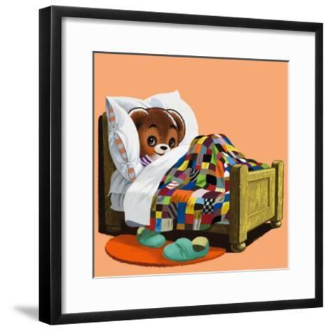 Teddy Bear-Francis Phillipps-Framed Art Print