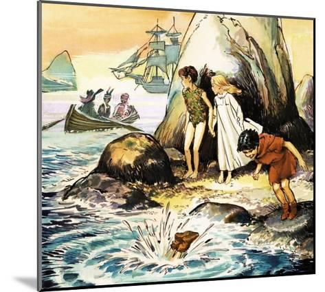 Peter Pan and Wendy-Nadir Quinto-Mounted Giclee Print