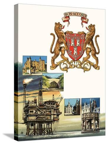 Aberdeen-Dan Escott-Stretched Canvas Print