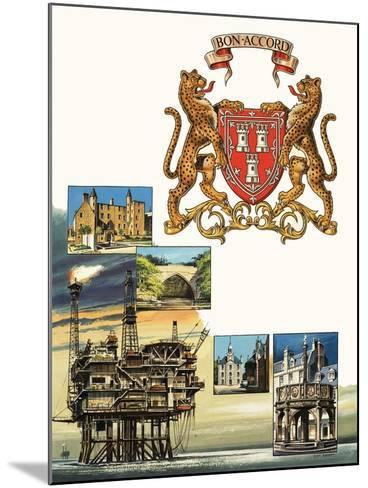 Aberdeen-Dan Escott-Mounted Giclee Print