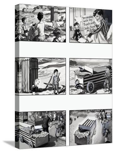 Walter Hottle Bottle-W. Langhammer-Stretched Canvas Print