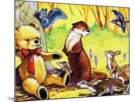 Fliptail the Otter-Bert Felstead-Mounted Giclee Print