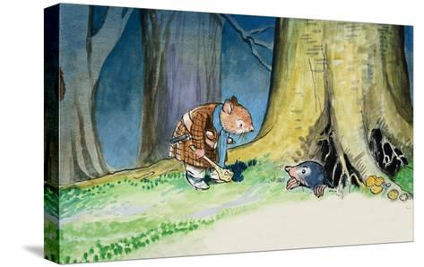 The Wind in the Willows-Philip Mendoza-Stretched Canvas Print