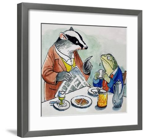 The Wind in the Willows-Philip Mendoza-Framed Art Print