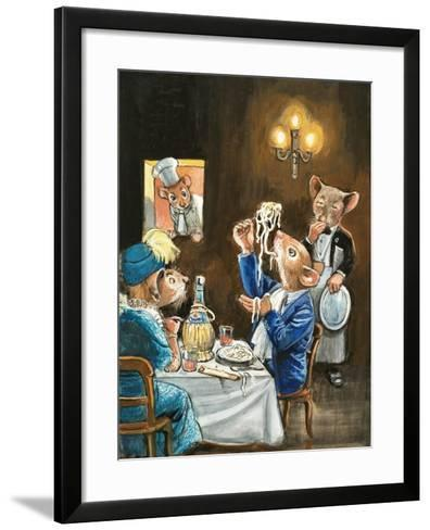 Town Mouse and Country Mouse-Philip Mendoza-Framed Art Print
