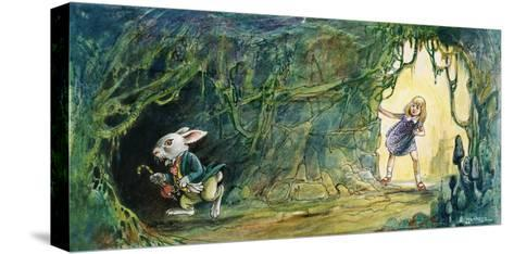 Alice in Wonderland-Philip Mendoza-Stretched Canvas Print