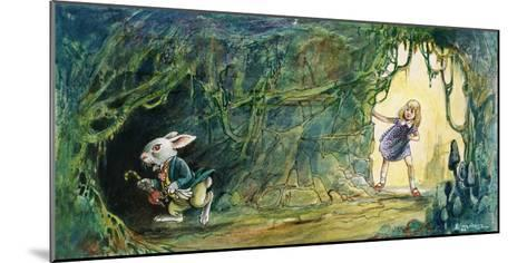 Alice in Wonderland-Philip Mendoza-Mounted Giclee Print