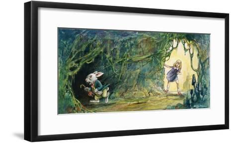 Alice in Wonderland-Philip Mendoza-Framed Art Print