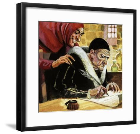 Seat in the Stalls: Faust-Andrew Howat-Framed Art Print