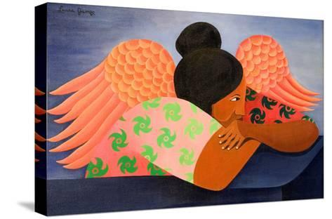 Guardian Angel, 1998-Laura James-Stretched Canvas Print