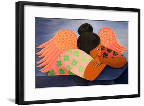 Guardian Angel, 1998-Laura James-Framed Art Print