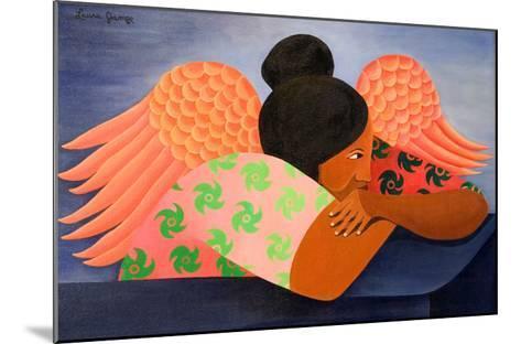 Guardian Angel, 1998-Laura James-Mounted Giclee Print