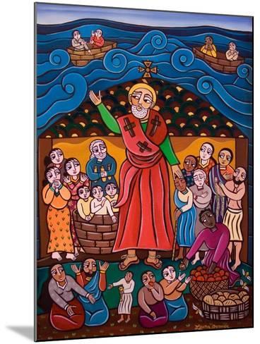 St. Nicholas, 2005-Laura James-Mounted Giclee Print