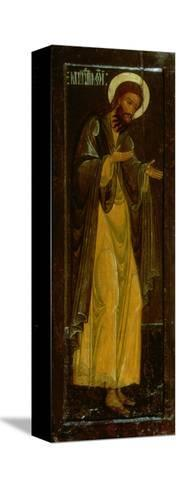 St. John the Baptist, Russian Icon, 17th Century--Stretched Canvas Print
