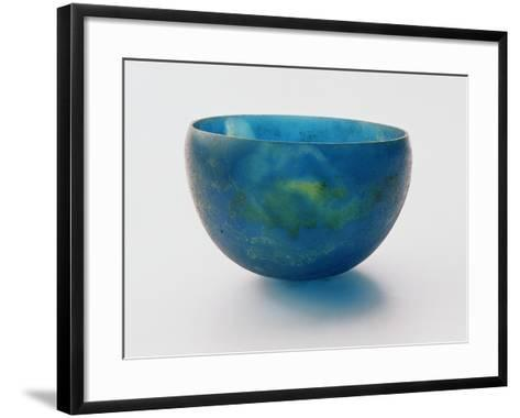 Sand-Core Glass Bowl Found in Bernardini Tomb at Praeneste, Made in Syria, 7th Century BC--Framed Art Print
