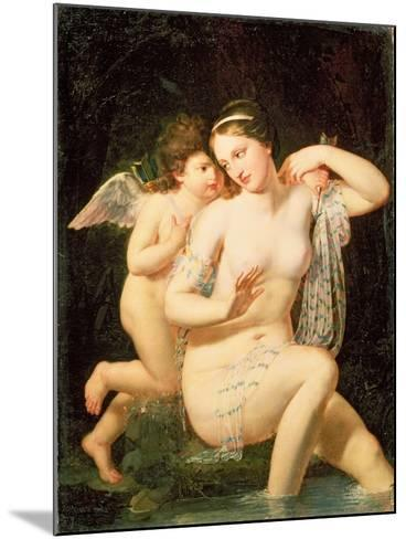 Venus and Cupid-N. De Courtaille-Mounted Giclee Print