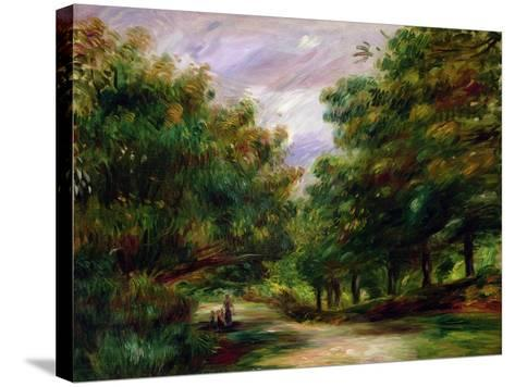 The Road Near Cagnes, 1905-Pierre-Auguste Renoir-Stretched Canvas Print