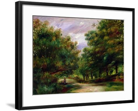 The Road Near Cagnes, 1905-Pierre-Auguste Renoir-Framed Art Print
