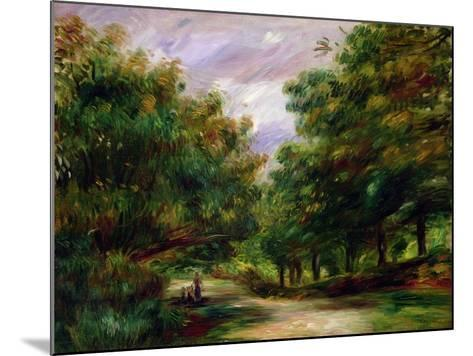 The Road Near Cagnes, 1905-Pierre-Auguste Renoir-Mounted Giclee Print