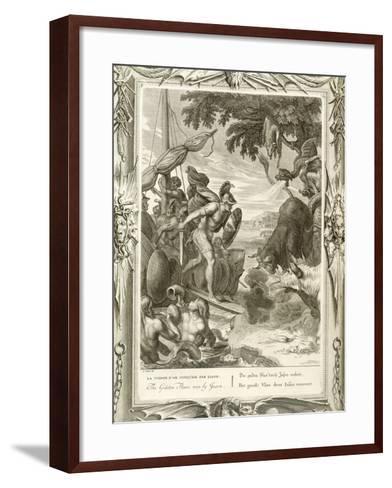 The Golden Fleece Won by Jason--Framed Art Print