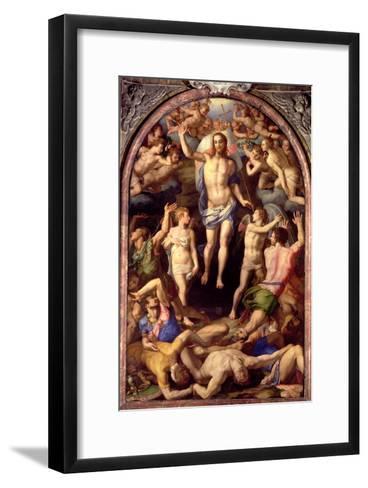 The Resurrection, 1550-Agnolo Bronzino-Framed Art Print