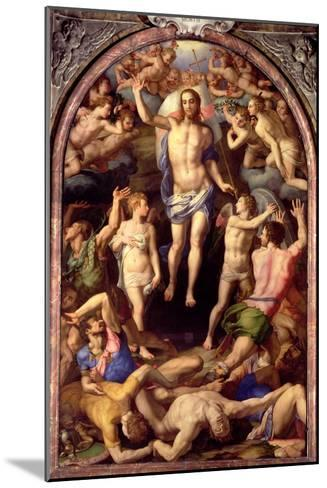 The Resurrection, 1550-Agnolo Bronzino-Mounted Giclee Print