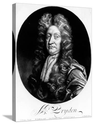 John Dryden-Johann Closterman-Stretched Canvas Print